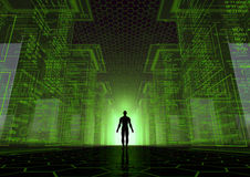 Hacker world Stock Images