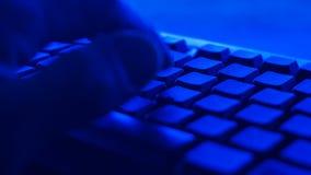 Hacker zerstören Computerinfrastruktur stock video footage