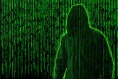 Hackera pojęcie Zdjęcie Stock