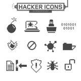 Hackerikonen Stockbilder