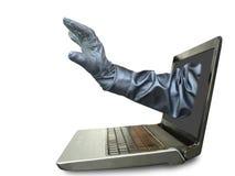 Hackerkonzept stockfoto