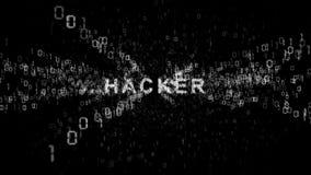 hackers Problemet av internetsäkerhet vektor illustrationer