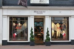 Hackett London Royalty Free Stock Photography
