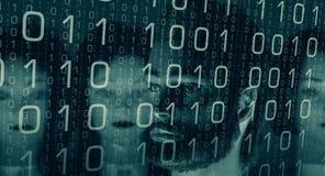 Hacking data, computer password broken Royalty Free Stock Photography