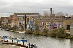 Остров рыб, Hackney, Лондон Стоковые Фотографии RF
