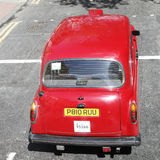 Hackney Carriage, London Taxi Royalty Free Stock Photos