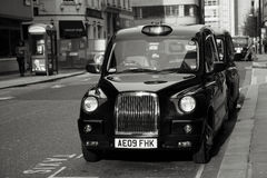 Hackney Carriage, London Taxi Stock Photography