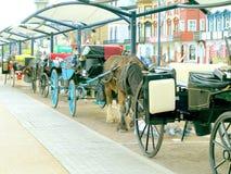 Hackney Carriage stop. Stock Photos