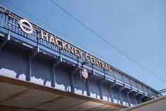 Hackney centrali overground obrazy royalty free