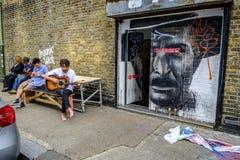 Hackney sztuki festiwal w lecie fotografia royalty free