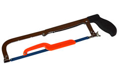 Hacksaw. 2 in 1 hacksaw isolated on white background Royalty Free Stock Photography
