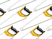 Hacksaw seamless  pattern Stock Photo