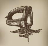 Hacksaw. Wektorowy format royalty ilustracja