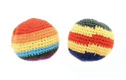 Hacky sacks royalty free stock photography