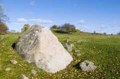The Hacon Stone runestone Stock Photos