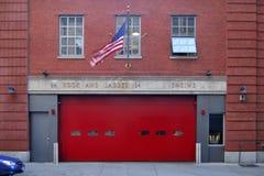 Haczyk i drabina co 24, Nowy Jork Obraz Royalty Free