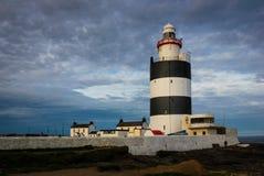 Haczyk Kierownicza latarnia morska Wexford Irlandia zdjęcie stock