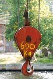 Haczyk żuraw Zdjęcie Royalty Free