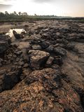 Had hin see at Ubonratchathani, Thailand Grand Canyon. Rocky beach at Sampan-bok in Ubonratchathani, Thailand Grand Canyon stock photography