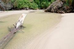 Had Sun beach, Thailand. Clear water at Had Sun beach, south of Thailand Stock Photography