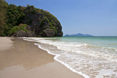 Had Sun beach, Trang province, Thailand. Royalty Free Stock Photos
