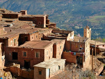 Had Zerkten. A village in High Atlas Region of Marocco Royalty Free Stock Images