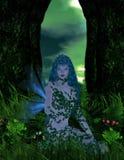 Hada azul Imágenes de archivo libres de regalías