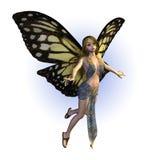 Hada de la mariposa Fotos de archivo libres de regalías