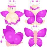 Hada de la mariposa Imagen de archivo libre de regalías
