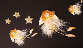 Hada de la Navidad. Imágenes de archivo libres de regalías