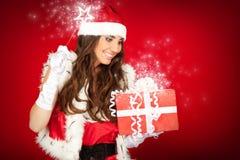 Hada de la Navidad Fotografía de archivo