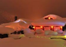 Hada de la nieve Imágenes de archivo libres de regalías
