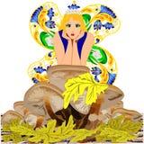 Hada de la seta de la fantasía Imagen de archivo libre de regalías