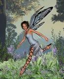 Hada del Bluebell Stock de ilustración
