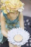Hada del jardín Foto de archivo libre de regalías