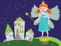 Hada o princesa Imagen de archivo libre de regalías
