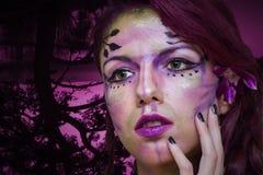 Hada púrpura Fotos de archivo libres de regalías