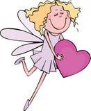 Hada rosada Fotografía de archivo libre de regalías