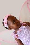 Hada rosada Foto de archivo libre de regalías