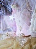 hada rosada hermosa del ballet de la danza de la moda del estilo del equipo del armario del guardarropa Imagenes de archivo