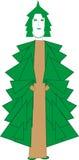 Hada Spruce stock de ilustración