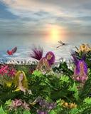 Hadas de la flor Foto de archivo