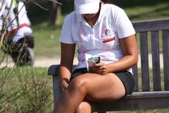 Haddioui (MOR) Dinard golf cup 2011, France Stock Photography