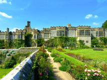 Haddon Hall, Derbyshire Royaltyfri Foto