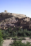 Haddou του Μαρόκου ait ben ksar Στοκ Φωτογραφίες