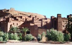 Haddou de Kasbah AIT ben em Marrocos Fotos de Stock Royalty Free