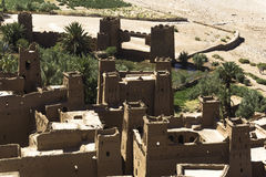 haddou do kasbah AIT ben  Foto de Stock