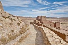 haddou morocco för ait ben Arkivfoton