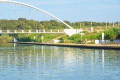Hadera河公园 免版税图库摄影