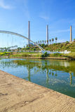 Hadera河公园 免版税库存照片
